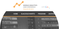 Google Analytics User Conference